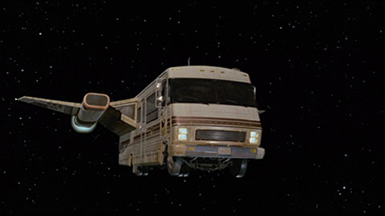 Eagle V, RV, Winnebago, Spaceship, Spaceballs, Funny, Movie, Countertops